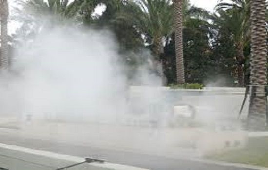 What are the contribution of fog systems for Odor control
